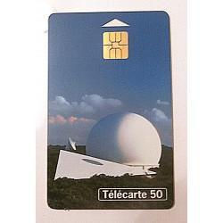 Ancienne carte téléphonique télécarte collection 50 unités musée télécommunications de Pleumeur Bodou