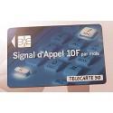 Ancienne carte téléphonique télécarte collection 50 unités signal d'appel 02