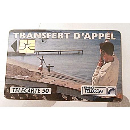 Ancienne carte téléphonique télécarte collection 50 unités transfert d'appel 02