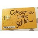 Ancienne carte téléphonique télécarte collection 50 unités schweppes