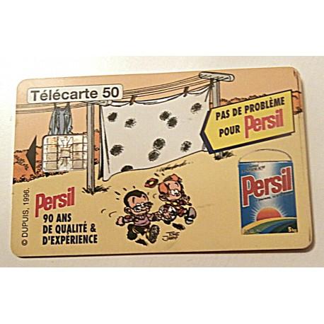 Ancienne carte téléphonique télécarte collection 50 unités persil