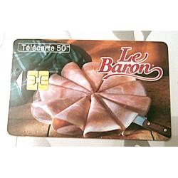 Ancienne carte téléphonique télécarte collection 50 unités le baron