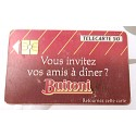 Ancienne carte téléphonique télécarte collection 50 unités buitoni