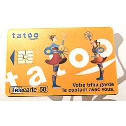 Ancienne carte téléphonique télécarte collection 50 unités tatoo