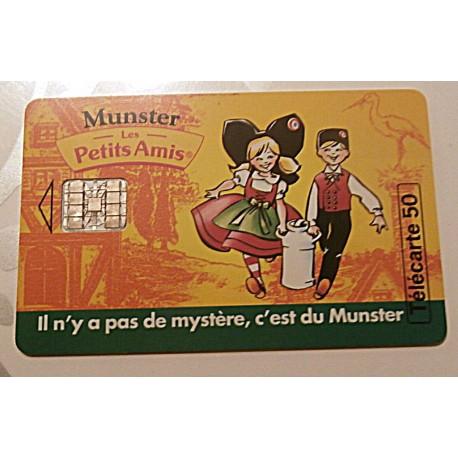 Ancienne carte téléphonique télécarte collection 50 unités munster