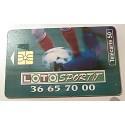 Ancienne carte téléphonique télécarte collection 50 unités loto sportif