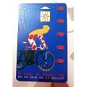 Ancienne carte téléphonique télécarte collection 50 unités tour de France 96
