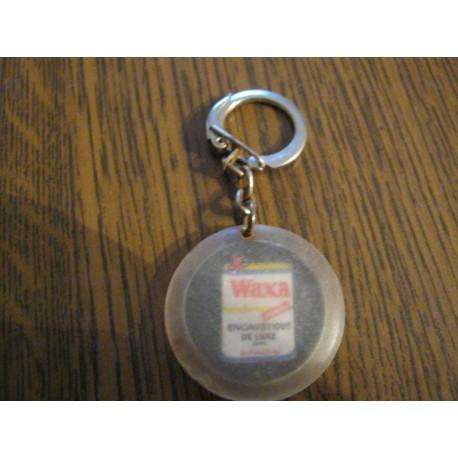 """Ancien porte clé publicitaire """" WAXA """""""