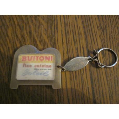 """Ancien porte clé publicitaire """" BUITONI FORME B """""""