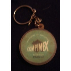 """Ancien porte clé publicitaire """" COMPIMEX PAYS BAS"""" collection occasion"""