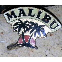 Ancien pin's collection malibu + attache métal