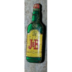 Ancien pin's collection whisky J&B + attache métal