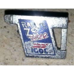 Ancien pin's collection igol + attache métal