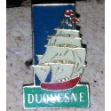 pin's collection duquesne + attache métal