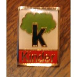 Ancien pin's collection KINDER 02 + attache métal