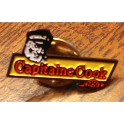 Ancien pin's collection CAPITAINE COOK + attache métal