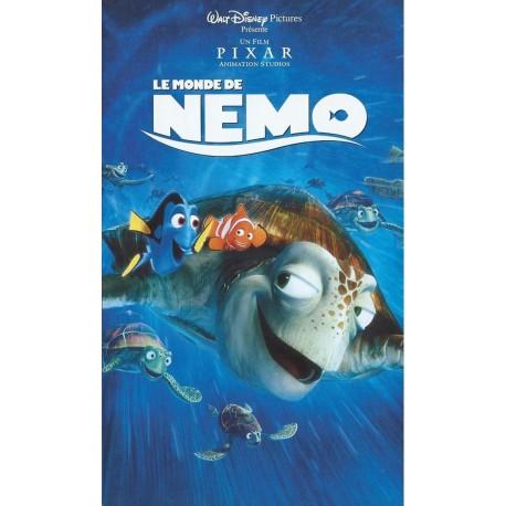 Cassette k7 vidéo vhs Walt Disney ENFANT LE MONDE DE NEMO - Pixar occasion