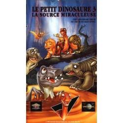 Cassette k7 vidéo vhs ENFANT Le petit dinosaure 3 (la source miraculeuse) occasion