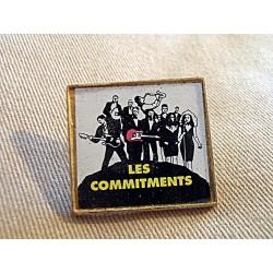 Ancien Pin's collection LES COMMITMENTS sans attache