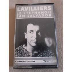 "Cassette audio K7 AUDIO Bernard Lavilliers ""LE STEPHANOIS SAN SALVADOR"""