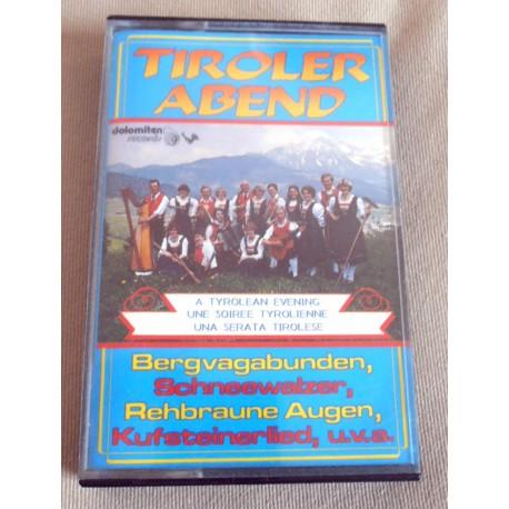 "Cassette audio K7 AUDIO musique tyrolienne "" TIROLER ABEND"""