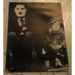Poster cartonné déco star 30 x 24 cm CHARLOT THE KID