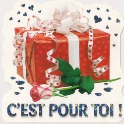 Carte postale - c'est pour toi Anniversaire fête NEUVE