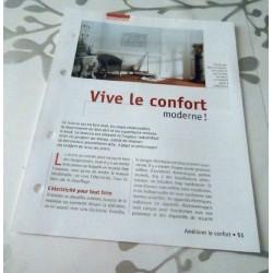 """FICHE FASCICULE COLLECTION LE GUIDE DE LA MAISON """" AMÉLIORER LE CONFORT 51"""""""