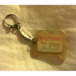 """Ancien porte clé publicitaire """" BUITONI """""""