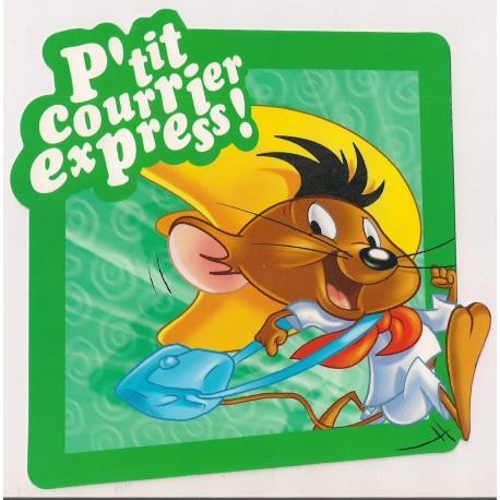 Carte postale NEUVE - p'tit courrier express