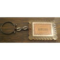 """Ancien porte clé publicitaire """" BISLOR"""""""