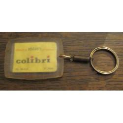 """Ancien porte clé publicitaire """" BISCUITS COLIBRI"""""""