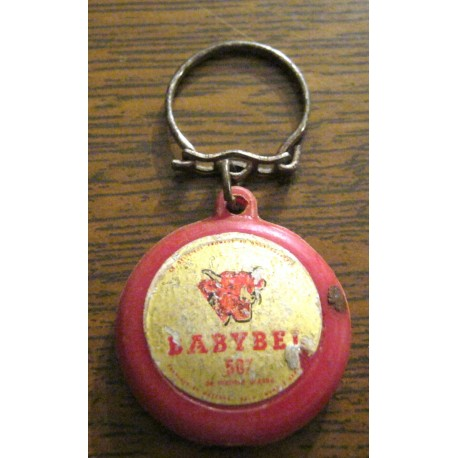 """Ancien porte clé publicitaire """" BABYBEL """""""