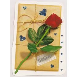 Carte postale - urgent anniversaire fête en tout genre neuve