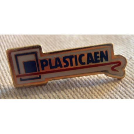 Pin's collection publicitaire PLASTICAEN sans attache