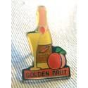 Pin's collection publicitaire GOLDEN BRUT sans attache