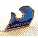 Pin's collection publicitaire L'HOTELLIER sans attache