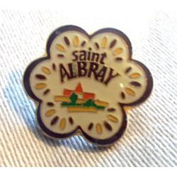 Pin's collection publicitaire SAINT ALBRAY sans attache