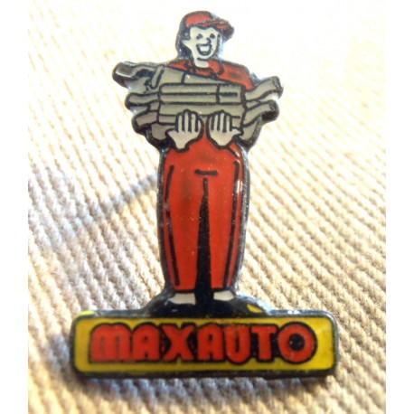 Pin's collection publicitaire MAX AUTO sans attache