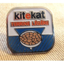Ancien Pin's collection publicitaire KITEKAT sans attache