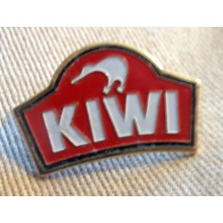 Ancien Pin's collection publicitaire KIWI sans attache