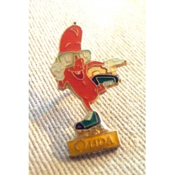 Ancien Pin's collection publicitaire OLIDA sans attache