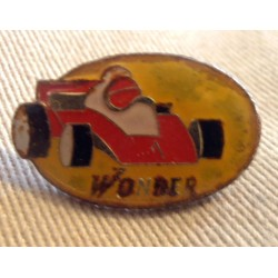 Ancien Pin's collection publicitaire WONDER sans attache