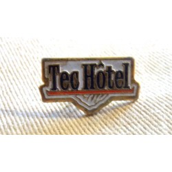 Ancien Pin's collection publicitaire TEC HOTEL sans attache