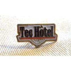 Pin's collection publicitaire TEC HOTEL sans attache