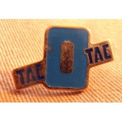Ancien Pin's collection publicitaire TACOTAC BLEU sans attache