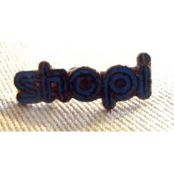 Pin's collection publicitaire SHOPI sans attache