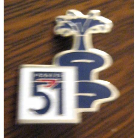 Pin's collection publicitaire PASTIS 51 sans attache 01