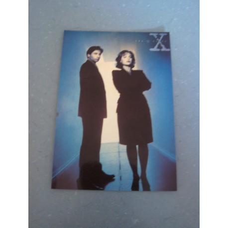 Carte Postale de Star - People - X files - David Duchovny & Gillian Anderson - Neuve