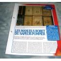 "FICHE FASCICULE POMPIERS COLLECTION "" L'HISTOIRE "" fiche 11"